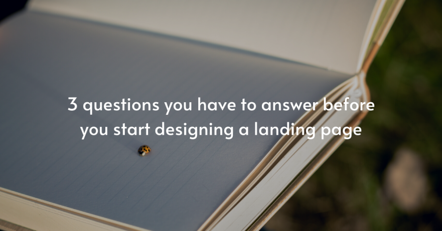 """I am sure that for many of you, if you've ever tried to design a landing page before, you've wondered… """"How do I even begin?"""" You have questions like: What information to include? How much information to include? In what order should I put the information? How do I structure the page? How many buttons/images/copy do I need? And many more… Usually there is an easy answer to all that: You go to a competitor's website that you intuitively like and steal everything. You just change colors/ texts and images. And you're good. No alt text provided for this image Not exactly a scientific way to do this, but yes, it ...could work. There are 2 problems though You don't know if it converts: You might intuitively like the page you're copying, but do you actually know that it converts? No you don't. But even if you KNOW that it does, guess what... Context matters: The fact that the page converts does not mean that YOUR page will. So, what you should do is start with 3 very basic questions: Who are you communicating with? In other words, """"what is your target audience and what do they know about your offering?"""" This is an important distinction, because this information will determine what information you should focus on, how you should structure that information and how long your page should be The 4 audience categories are the following: Problem aware: Aware they have a problem but don't know that there is a solution Solution aware: Aware that there is a solution, but they aren't familiar with yours Product aware: Aware of your product/offer, but don't know if it is right for them Most aware: Aware of your product/offer/brand and they know they want it Would you build the same landing page for the 1st category and for the 4th? Apparently not. For the """"problem-aware"""" audience, you'd want to start your page by addressing the problem, because at this point THIS is what they are all interested in. After connecting with them by describing the problem they're facing, you'd want to hint"""